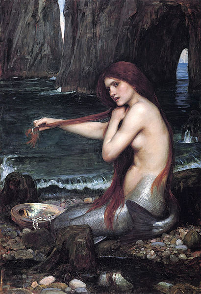 410px-Waterhouse_a_mermaid