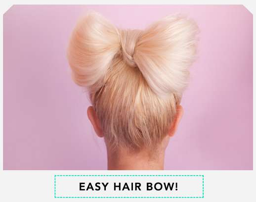 Hair Bow Styles: Day 21 Of 30 Styles In 30 Days: The Hairbow