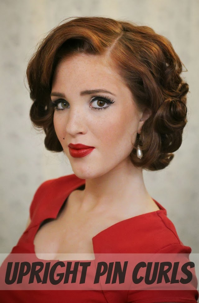 Day 27 Of 30 Styles In 30 Days Pin Curls Rowan January