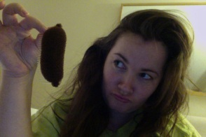Looks like a poo, is actually a hair comb