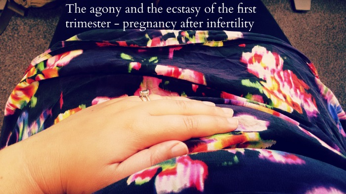 The agony and the ecstasy of the first trimester – pregnancy afterinfertility